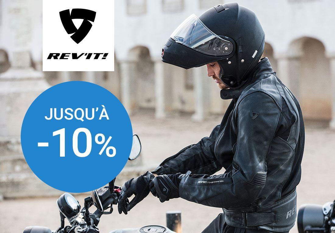 Jusqu'à -10 % sur Rev'it !