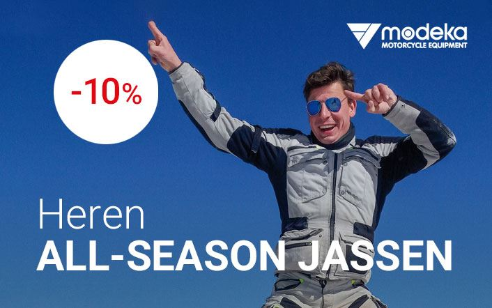 -10% op all-season heren jassen