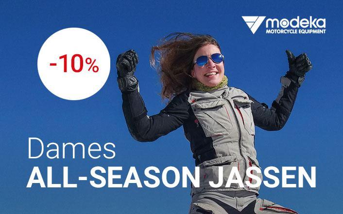-10% op all-season dames jassen