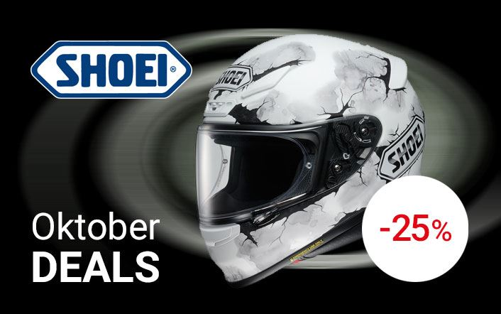 Shoei Oktoberdeal -25%