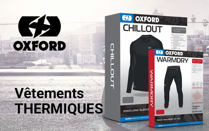 Nouveaux vêtements thermiques Oxford