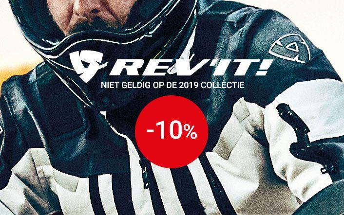 -10% op Rev'it (uitgezonderd 2019-collectie