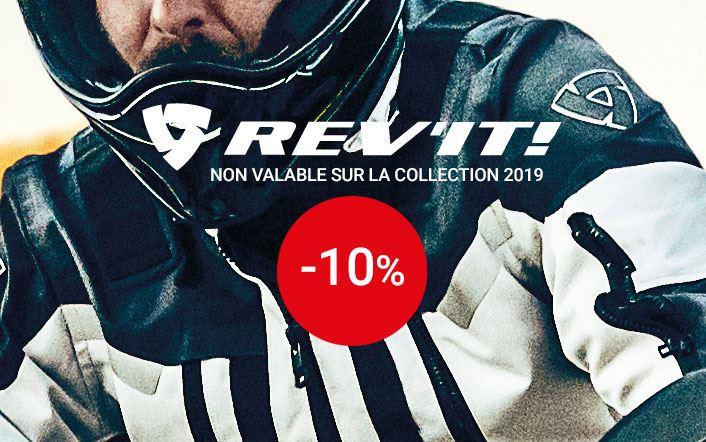 -10% sur Rev'it (sauf collection 2019)