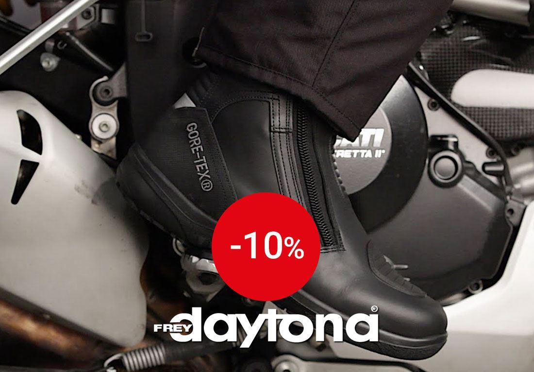 -10 % sur Daytona