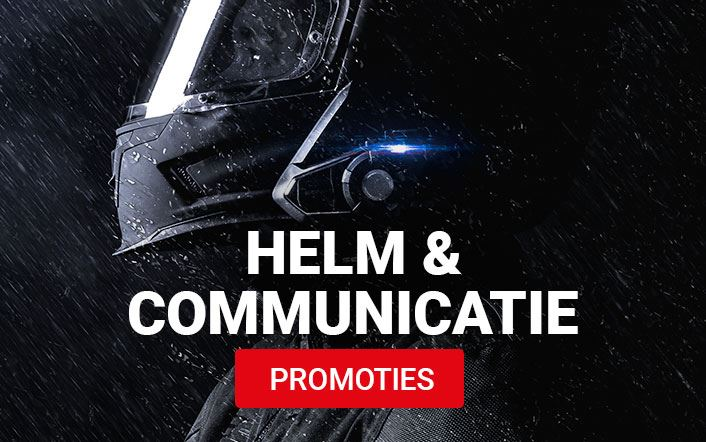 Alle helmen en communicatie in promotie