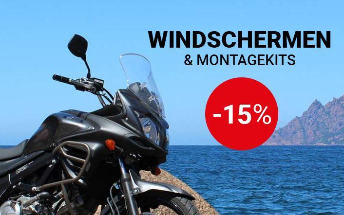 Windschermen -15%