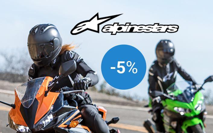 -5% op Alpinestars kledij