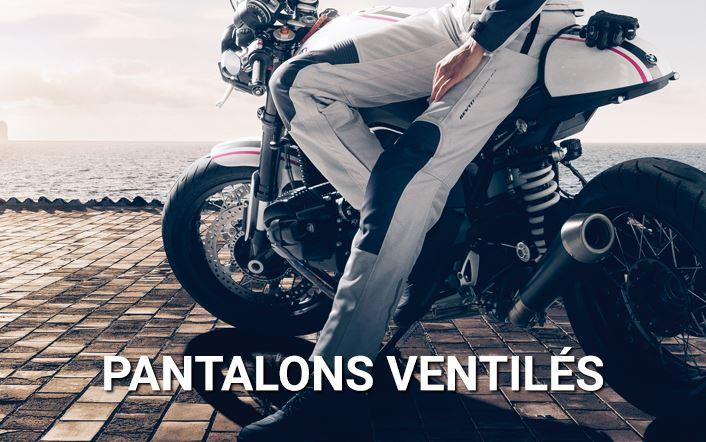 Pantalon en textile ventilé