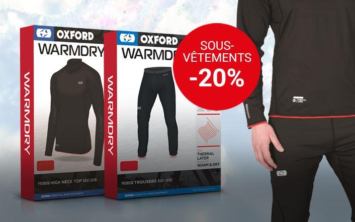Vêtements thermiques Oxford