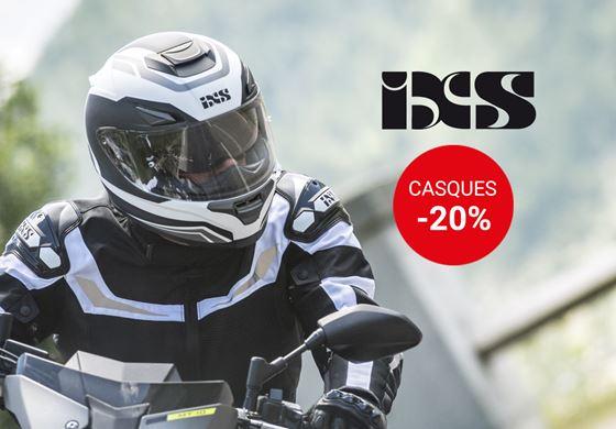 Casques IXS -20%