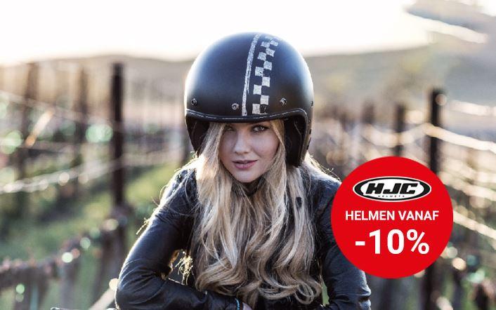 HJC helmen vanaf -10%