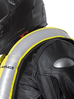 held air vest zwart fluo geel universeel rad eu. Black Bedroom Furniture Sets. Home Design Ideas