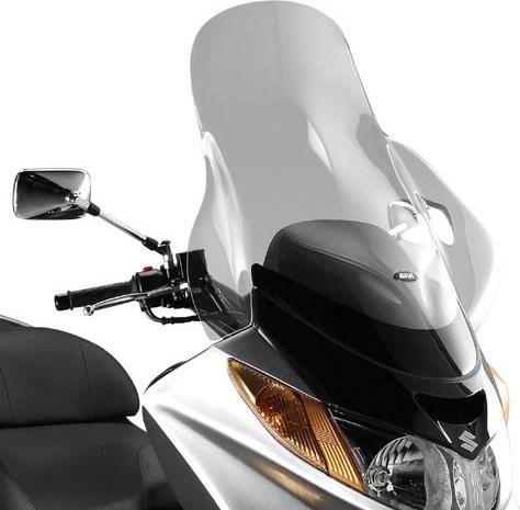 GIVI Verhoogd transparant windscherm - ST D258ST