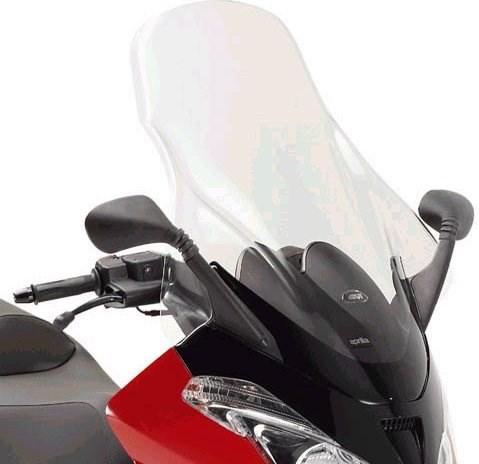 GIVI Verhoogd transparant windscherm - ST D242ST