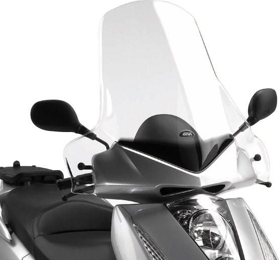 GIVI Verhoogd transparant windscherm - ST D219ST