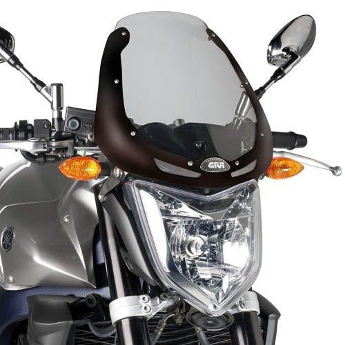 GIVI Bulle - Naked bike excl. kit de montage 246N902 Noir
