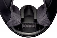 SHOEI X-Spirit Air mask 3 (avec cordon) Noir