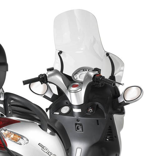 GIVI Bulle transparent excl. kit de montage - DT 290DT
