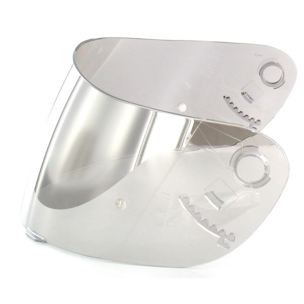 SHOEI Visière CX-1 Iridium Chrome (préparée Pinlock)