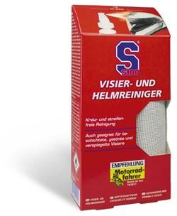 S100 : Helm- en vizierreiniger + microvezeldoek - 100 ml