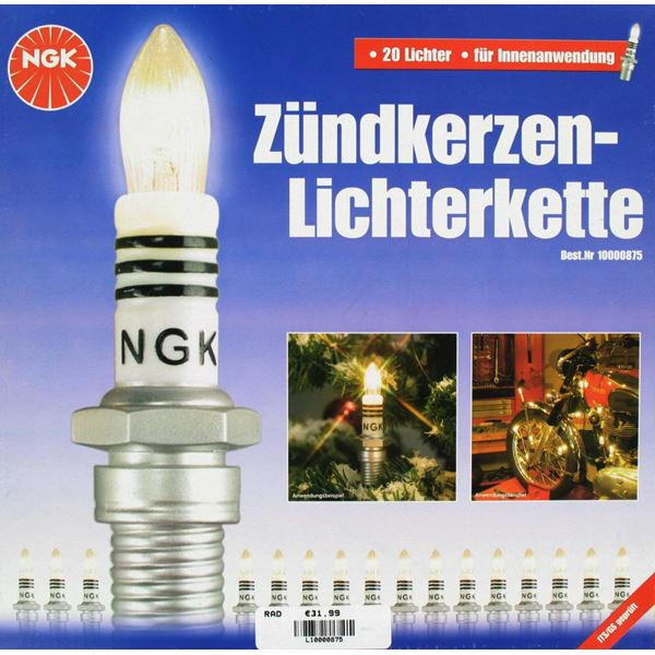 RAD Kerstboom verlichting NGK