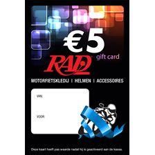 RAD Chèque-cadeau Néerlandophone Imprimé carte-cadeau