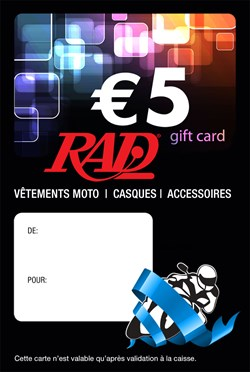 RAD CHEQUE CADEAU (VERSION FRANCAISE)