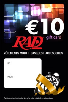 RAD Gedrukte Franstalige Cadeaubon cadeaukaart