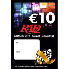 RAD Chèque-cadeau Francophone Imprimé carte-cadeau