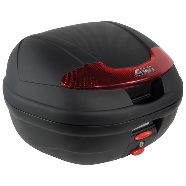 GIVI E340 Vision topkoffer rode reflectoren