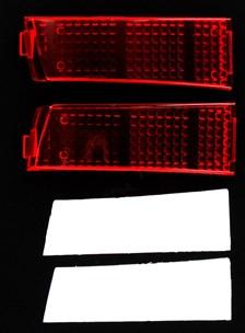 GIVI Handvat reflector Z616KIT