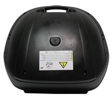 GIVI E370 Bovenschaal Ongespoten - Zwart - Z370CNR