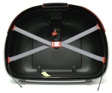 GIVI E52 Onderschaal Zwart met zilveren omlijsting - Z52FNM