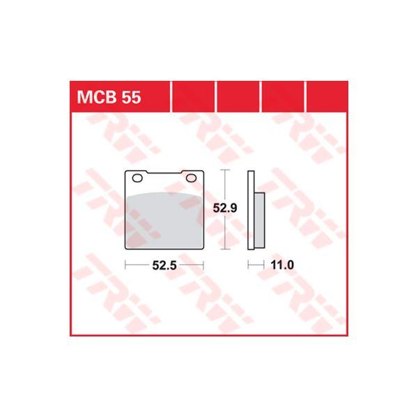 TRW Standaard remblokken MCB055