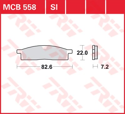 TRW SI Remblokken sinter metaal MCB558SI