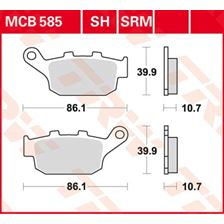 TRW Plaquettes de frein SV/SH MCB585SH