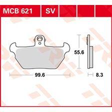 TRW Plaquettes de frein organique MCB621