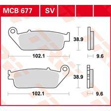 TRW SV/SH Remblokken MCB677SV