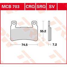 TRW Plaquettes de frein SV/SH MCB703SV