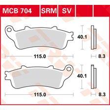 TRW Plaquettes de frein organique MCB704