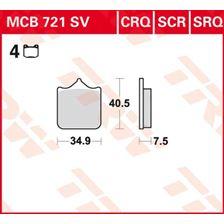 TRW SV/SH Remblokken MCB721SV