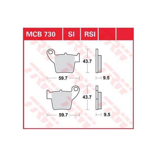 TRW RSI remblokken MCB730RSI