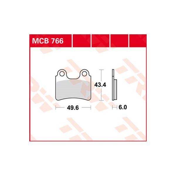 TRW Standaard remblokken MCB766