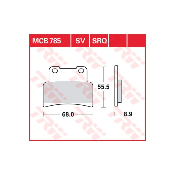 TRW SRQ remblokken MCB785SRQ