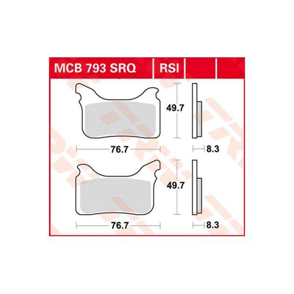 TRW RSI remblokken MCB793RSI