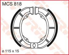 TRW Mâchoires de freins MCS818