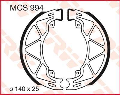 TRW Remschoenen MCS994