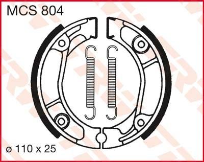TRW Remschoenen MCS804
