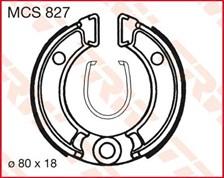 TRW Mâchoires de freins MCS827
