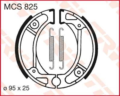 TRW Remschoenen MCS825